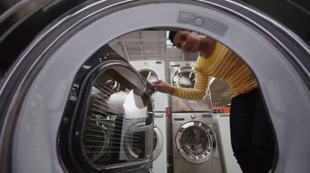 The Home Depot Labor Day Savings TV Spot, 'In Here: LG Washtower'