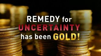 Lear Capital TV Spot, 'Peace of Mind During Financial Chaos: Free One Gram Gold Plated Bar' - Thumbnail 5