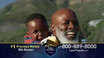 Lear Capital TV Spot, 'Peace of Mind During Financial Chaos: Free One Gram Gold Plated Bar' - Thumbnail 6