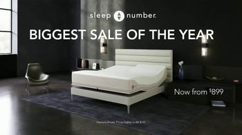Sleep Number Biggest Sale of the Year TV Spot, 'All Smart Beds on Sale: 50% Off and 0% Interest' - Thumbnail 1