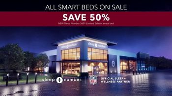 Sleep Number Biggest Sale of the Year TV Spot, 'All Smart Beds on Sale: 50% Off and 0% Interest' - Thumbnail 7