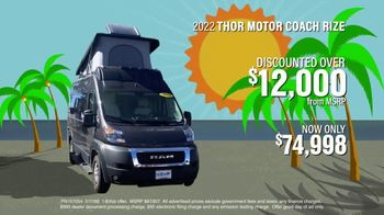 La Mesa RV TV Spot, 'I-4 RV Show: 2022 Thor Motor Coach Rize' - Thumbnail 5