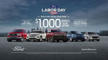 Ford Labor Day Sales Event TV Spot, 'Right Now: SUVs' [T2] - Thumbnail 4