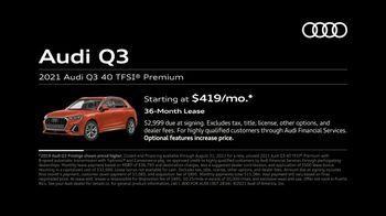 2021 Audi Q3 TV Spot, 'Around Town' [T2] - Thumbnail 6