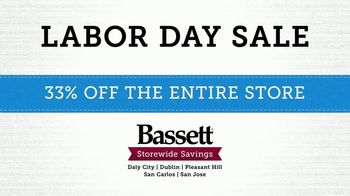 Bassett Labor Day Sale TV Spot, '33% Off' - Thumbnail 9