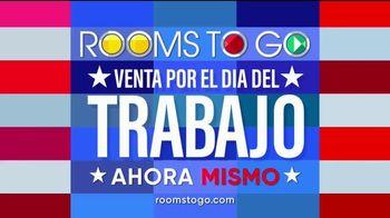 Rooms to Go Venta por el Día del Trabajo TV Spot, 'Juegos de comedor' [Spanish] - Thumbnail 5