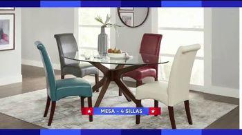 Rooms to Go Venta por el Día del Trabajo TV Spot, 'Juegos de comedor' [Spanish] - Thumbnail 2