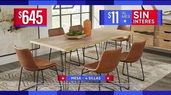 Rooms to Go Venta por el Día del Trabajo TV Spot, 'Juegos de comedor' [Spanish] - Thumbnail 4