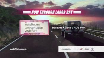 AutoNation Chrysler Dodge Jeep Ram Make This the Summer Event TV Spot, '0% Financing' - Thumbnail 10