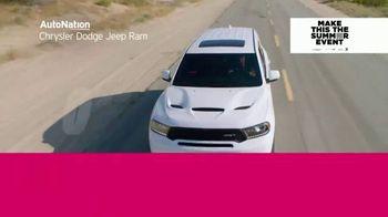 AutoNation Chrysler Dodge Jeep Ram Make This the Summer Event TV Spot, '0% Financing' - Thumbnail 6