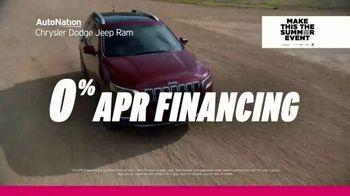 AutoNation Chrysler Dodge Jeep Ram Make This the Summer Event TV Spot, '0% Financing' - Thumbnail 7