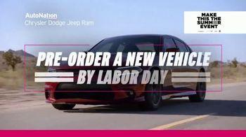 AutoNation Chrysler Dodge Jeep Ram Make This the Summer Event TV Spot, '0% Financing' - Thumbnail 8