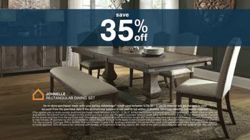Ashley HomeStore Anniversary Sale TV Spot, 'Save 35%' - Thumbnail 4
