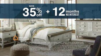 Ashley HomeStore Anniversary Sale TV Spot, 'Save 35%' - Thumbnail 5