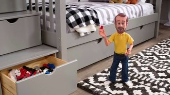 Bob's Discount Furniture 30th Anniversary TV Spot, 'Legos y cama Keystone' [Spanish]