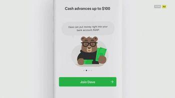 Dave App TV Spot, '$100 Advance'