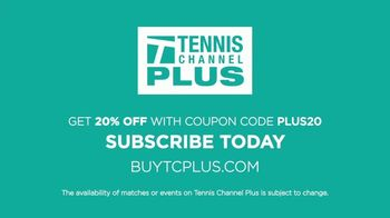 Tennis Channel Plus TV Spot, 'Miami Open With 20% Off' - Thumbnail 10