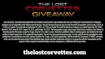 Corvette Heroes The Lost Corvettes Giveaway TV Spot, '20 Winners' - Thumbnail 8