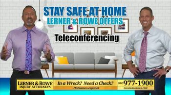 Lerner and Rowe Injury Attorneys TV Spot, 'Grand Opening: Your Living Room'
