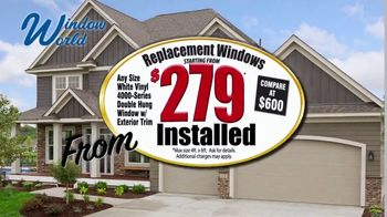 Window World TV Spot, 'Replacement Windows for $279: 19 Million Windows' - Thumbnail 2