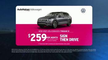 AutoNation Volkswagen TV Spot, 'Go Time: 2021 Tiguan S' - Thumbnail 5