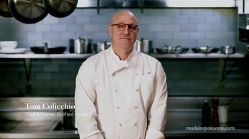 Made In Cookware TV Spot, 'Crafted Hospitality' Featuring Tom Colicchio