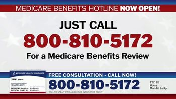 Medicare Benefits Hotline TV Spot, 'Are You Getting the Benefits You Deserve?'