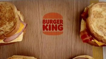 Burger King French Toast Sandwiches TV Spot, 'Made for a King' - Thumbnail 1