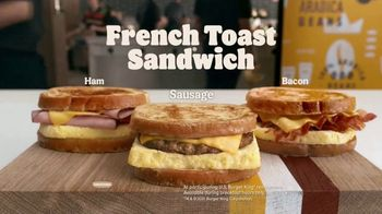 Burger King French Toast Sandwiches TV Spot, 'Made for a King' - Thumbnail 6