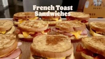 Burger King French Toast Sandwiches TV Spot, 'Made for a King' - Thumbnail 2
