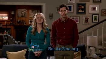 Be Like Gina TV Spot, 'Stories of Living Kidney Donors' Ft. Thomas Middleditch, Annaleigh Ashford - Thumbnail 8