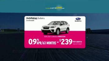 AutoNation Subaru A Lot to Love Event TV Spot, 'Go Time: 2021 Subaru Forester' - Thumbnail 5