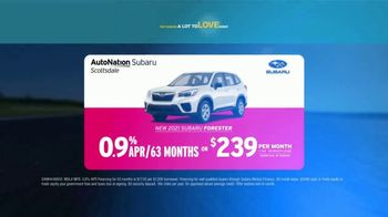 AutoNation Subaru A Lot to Love Event TV Spot, 'Go Time: 2021 Subaru Forester' - Thumbnail 6