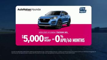 AutoNation Hyundai Spring Upgrade Sales Event TV Spot, 'Go Time: 2021 Tucson SEL' - Thumbnail 3