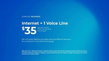 Comcast Business TV Spot, 'Resolutions: Internet + 1 Voice Line for $35 a Month' - Thumbnail 10