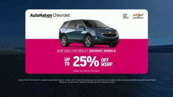 AutoNation Chevrolet TV Spot, 'It's Go Time: 2021 Equinox Models' - Thumbnail 4