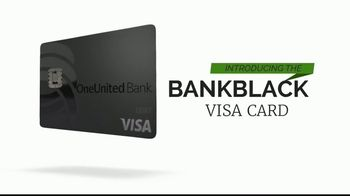 OneUnited Bank BankBlack Visa Debit Card TV Spot, 'Join the Movement: Free Virtual Conference'