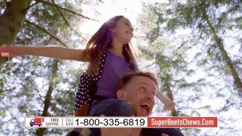 SuperBeets Soft Chews TV Spot, 'Blood Pressure and Blood Flow'