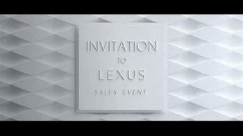 Invitation to Lexus Sales Event TV Spot, 'Test the Limits' [T2] - Thumbnail 1