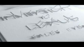 Invitation to Lexus Sales Event TV Spot, 'Test the Limits' [T2] - Thumbnail 2