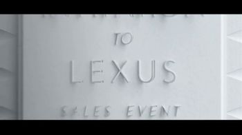 Invitation to Lexus Sales Event TV Spot, 'Test the Limits' [T2] - Thumbnail 6