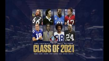 Pro Football Hall of Fame TV Spot, 'Class of 2021: Shop Gear'