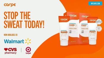 Carpe Sweat Solutions TV Spot, 'Stop The Sweat Today!' - Thumbnail 6