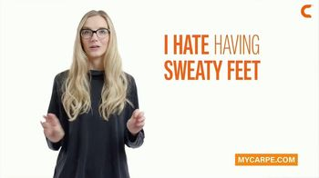 Carpe Sweat Solutions TV Spot, 'Stop The Sweat Today!' - Thumbnail 2