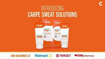 Carpe Sweat Solutions TV Spot, 'Stop The Sweat Today!' - Thumbnail 5