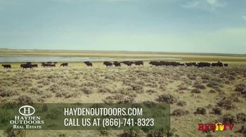Hayden Outdoors TV Spot, 'Unparalleled Real Estate Services'