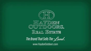 Hayden Outdoors TV Spot, 'Unparalleled Real Estate Services' - Thumbnail 8