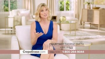 Crepe Erase Advanced TV Spot, 'Four Years Ago' Featuring Jane Seymour, Courtney Thorne-Smith - Thumbnail 4