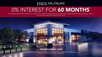 Sleep Number Weekend Special TV Spot, 'Special Financing and Save $1,000' - Thumbnail 8