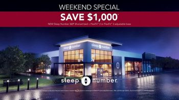 Sleep Number Weekend Special TV Spot, 'Special Financing and Save $1,000' - Thumbnail 7